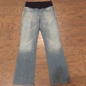 Maternity 7 For All Mankind Jeans SZ 31 Medium